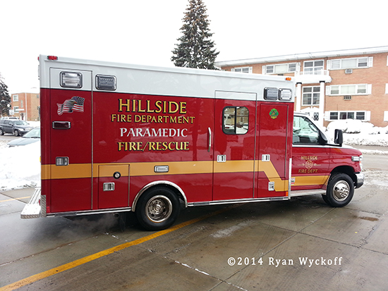 picture of new fire department ambulance