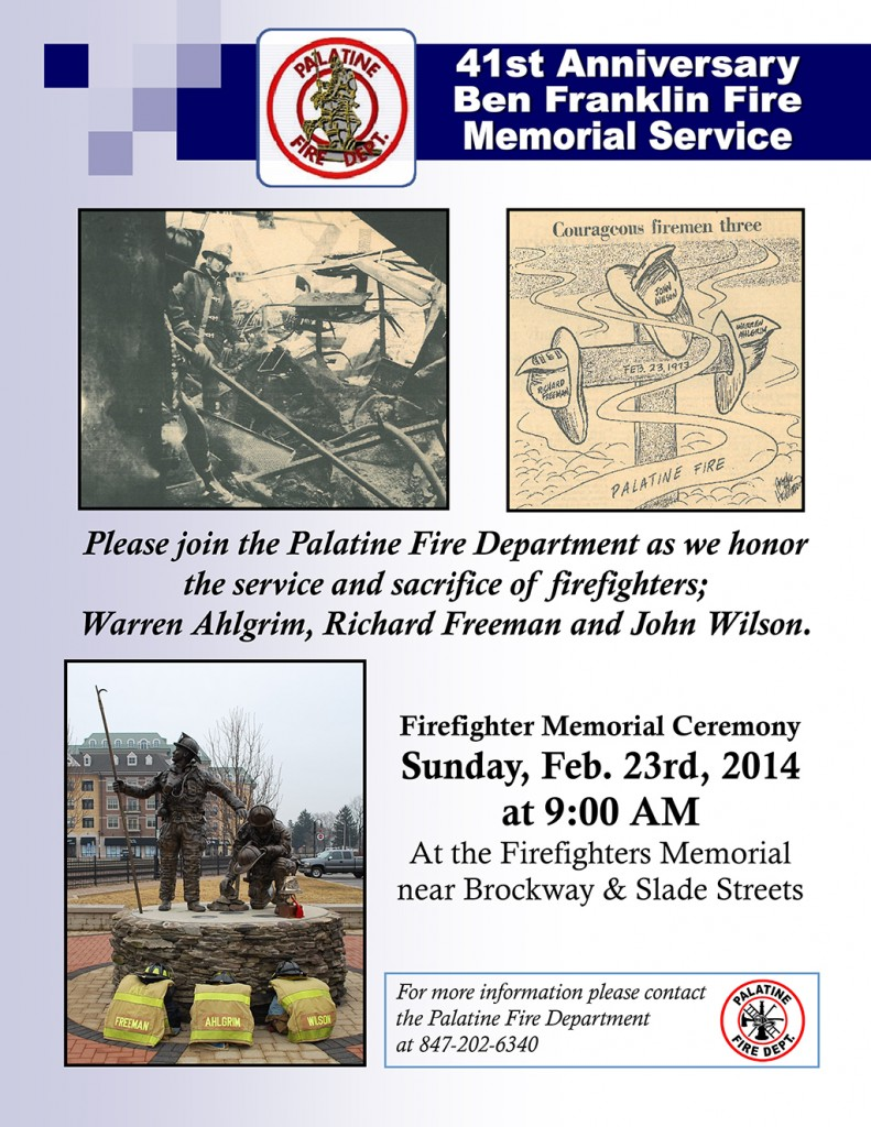 2014 Memorial Flyer