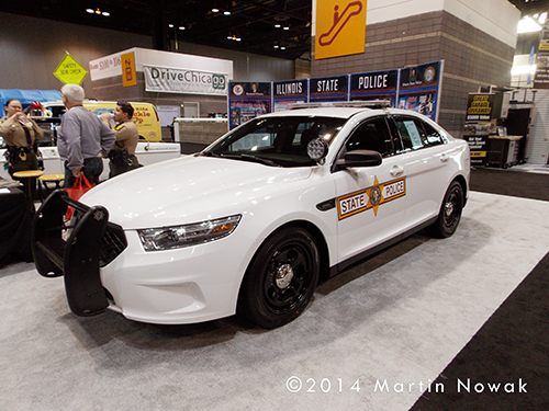 new Illinois State Police Car
