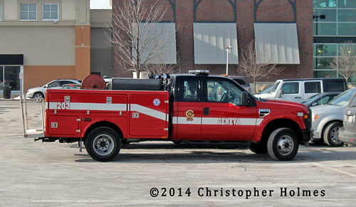 Geneva IL Fire Department brush unit