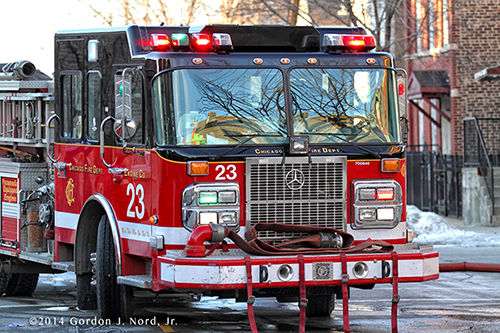 Chicago FD Spartan Engien 23