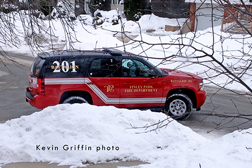 fire department Chevy Tahoe