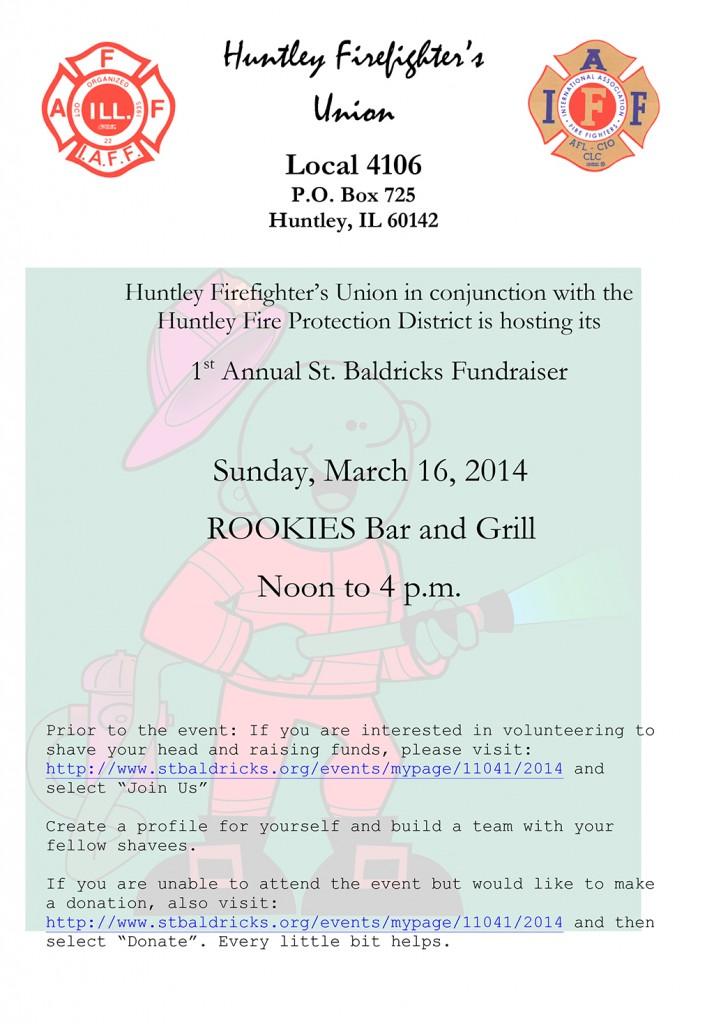 St Baldrick's Foundation fundraiser