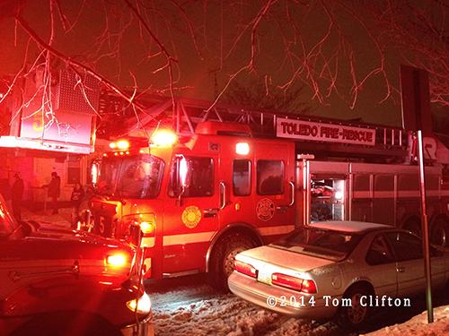 Toledo fire truck