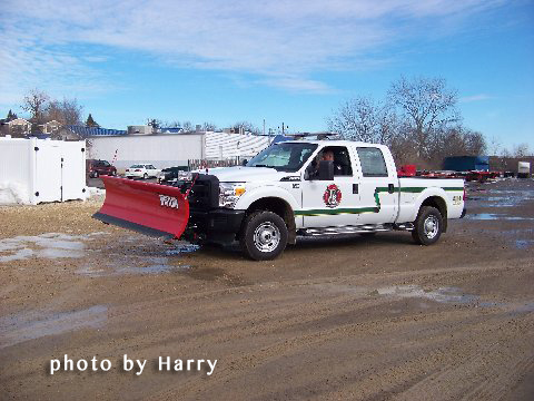 fire department snow plow
