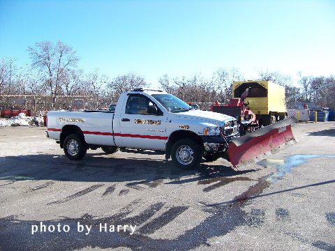 fire department snow plow