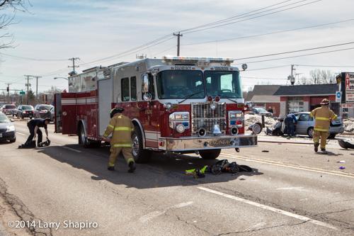Prospect Heights FD fire engine