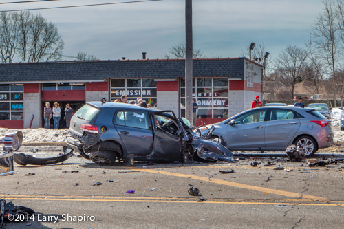 multiple cars wrecked drink crash