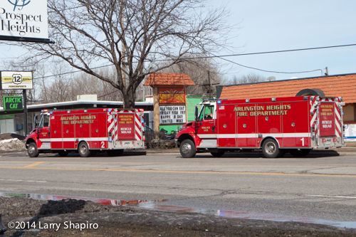 Arlington Heights Fire Trucks