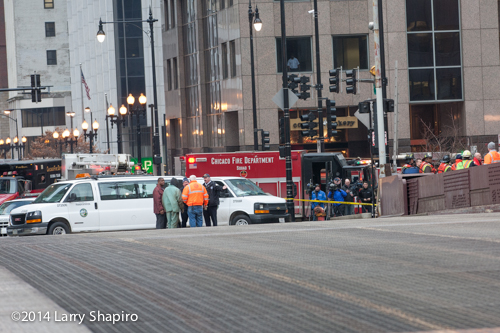 Chicago bridge where worker was injured