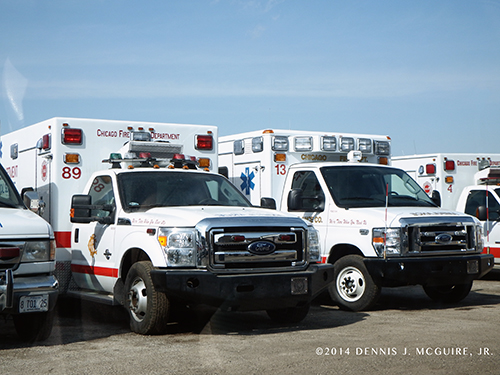 new Chicago FD ambulances