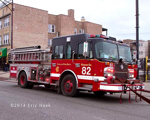 Chicago FD Spartan fire engine