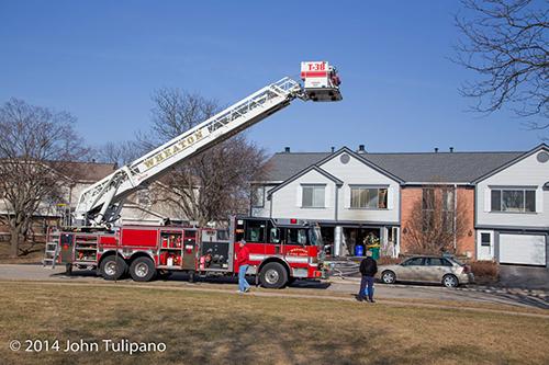 Pierce tower ladder