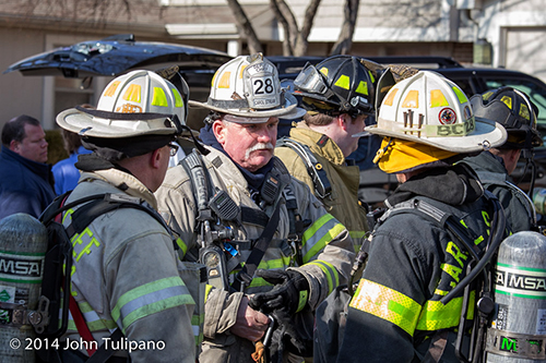 chief fire officers at fire scene Robert Hoff