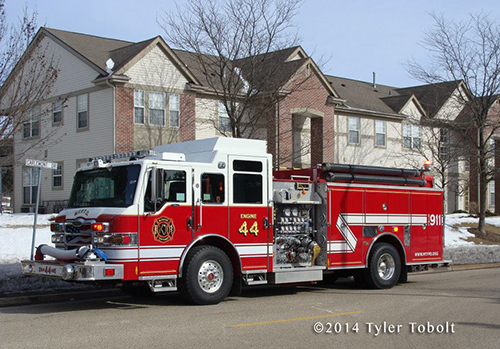 Pierce Impel fire engine