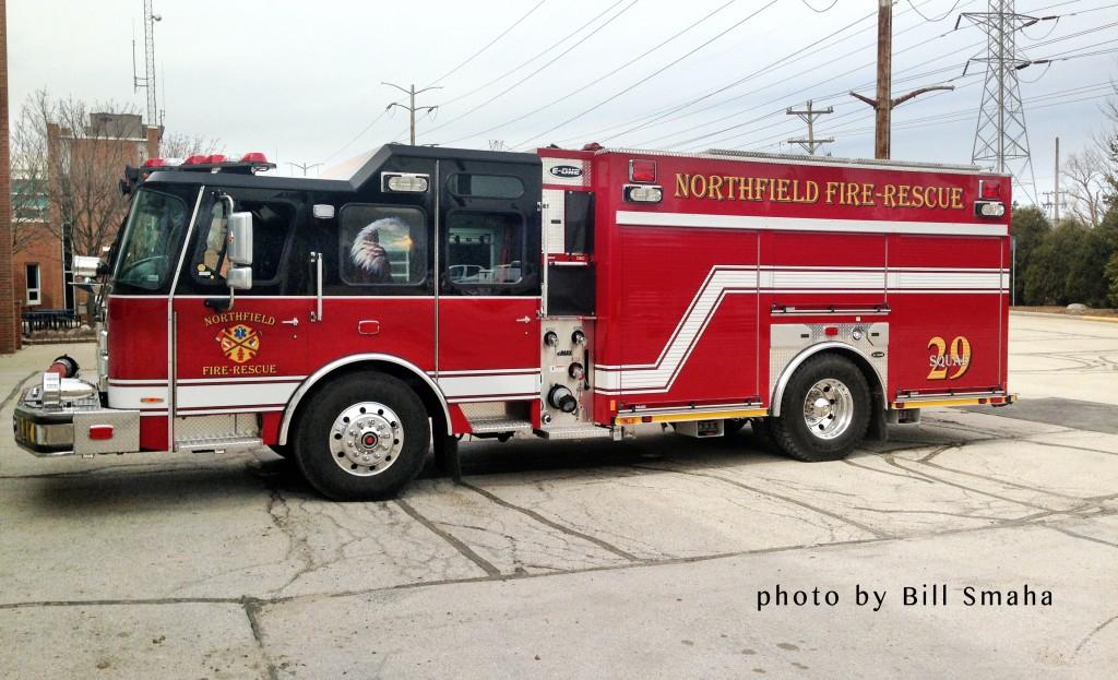 Northfield FD fire engine