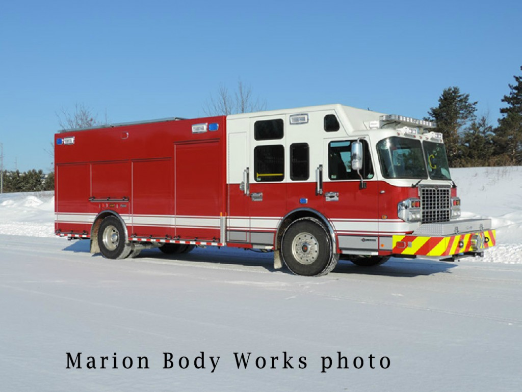 new fire truck heavy rescue