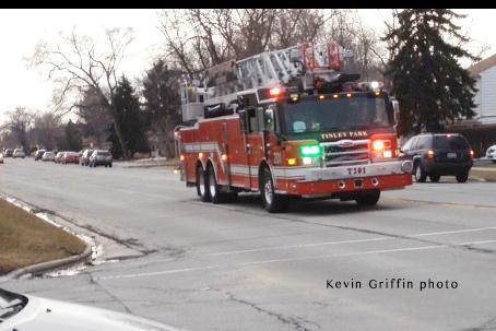 fire truck responding