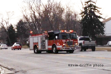 fire engine responding