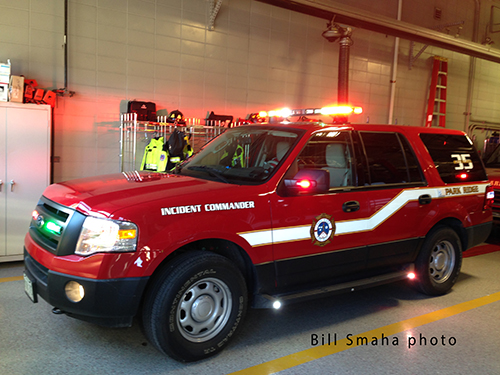 fire department Ford Expedition