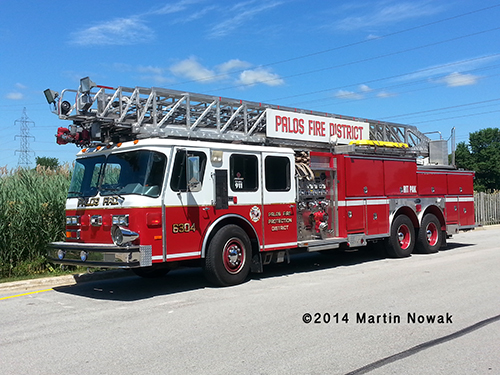 E-ONE Hurricane aerial ladder truck