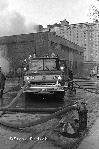 Chicago Ford fire engine