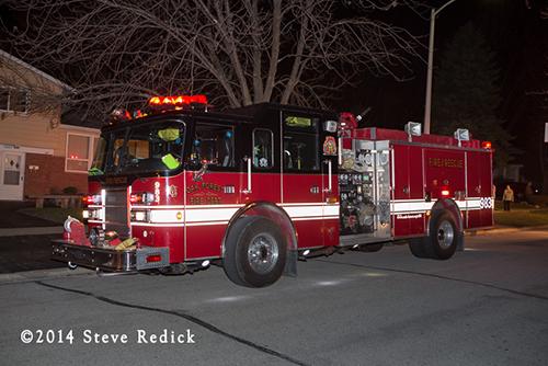 Oak Forest fire engine