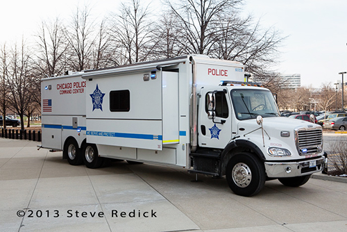 police department mobile command post