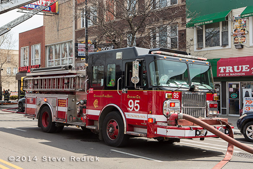 Chicago FD Spartan Engine 95
