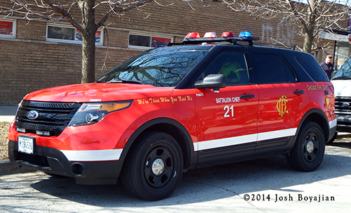 fire department Ford Explorer