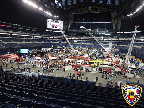 fire truck trade show