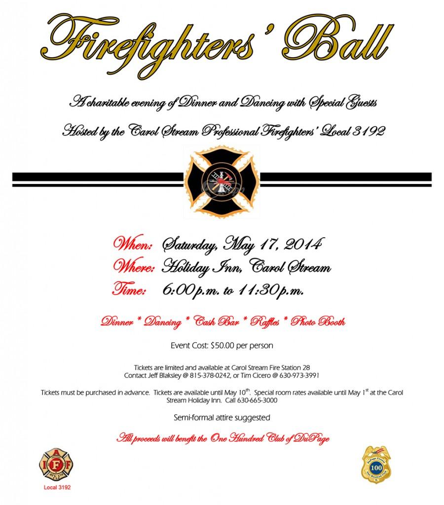 firefighter charity ball