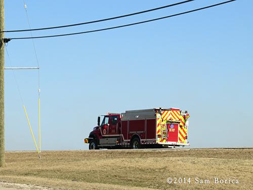 wildland interface fire engine