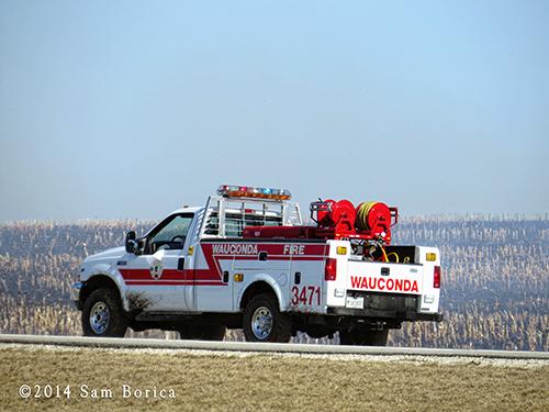 fire department brush truck