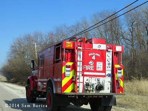 wild land fire truck