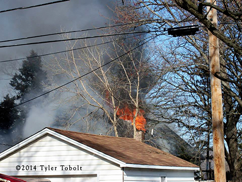 house fire photo