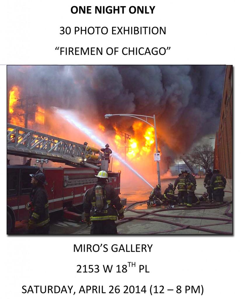 Firemen of Chicago Photo Exhibit