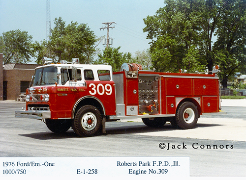Ford C-Series E-ONE fire engine