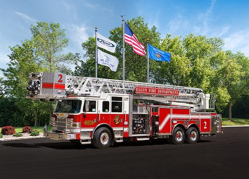 Elgin Fire Department Truck 2