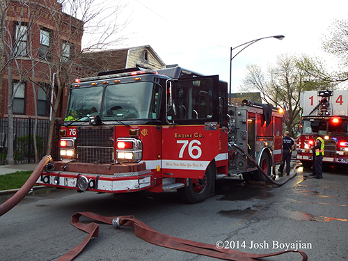 Chicago FD Engine 76