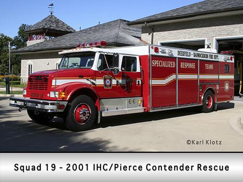 Pierce Contender rescue squad