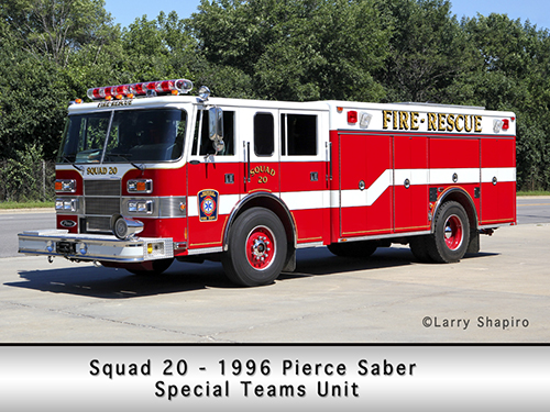 Deerfield Fire Department squad 20