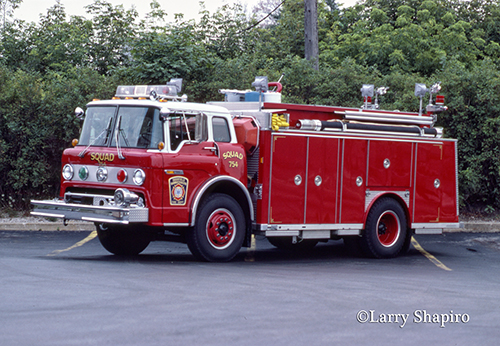 old fire department rescue squad