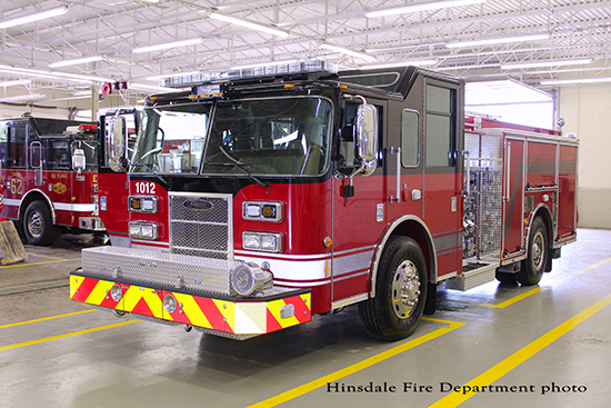 brand new fire engine