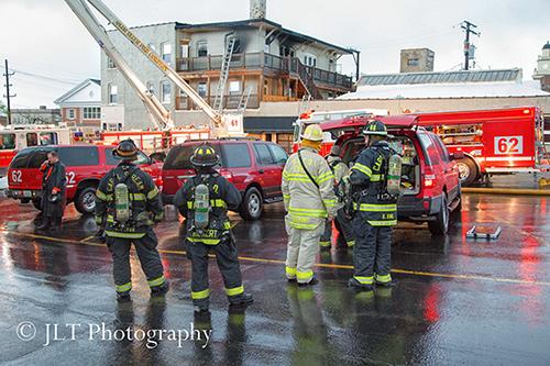 Glen Ellyn fire scene