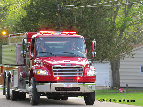 Barrington Countryside FPD water tanker