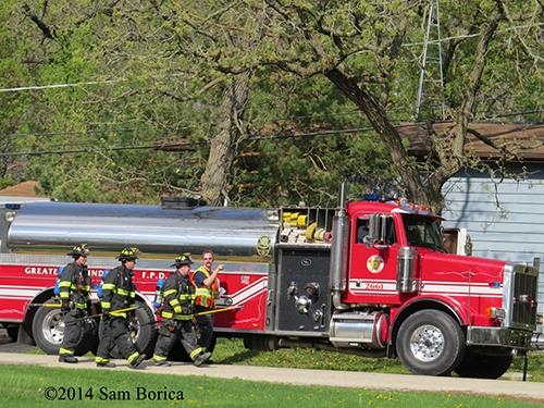 Greater Round Lake FPD water tanker