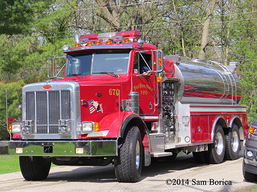 Fox River Grove FD water tanker