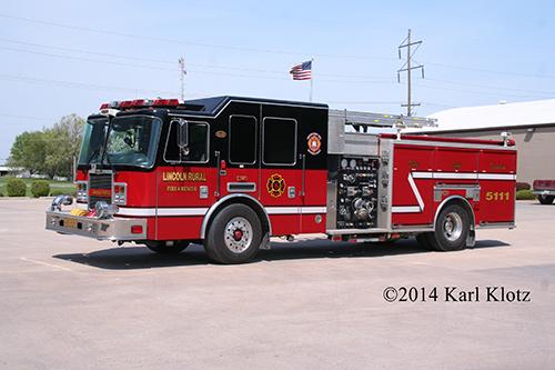 KME fire engine
