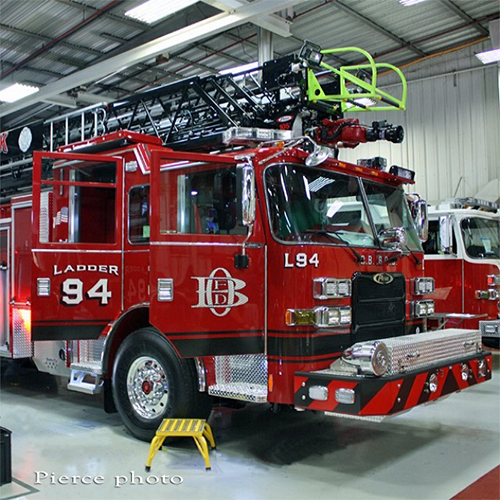 Oak Brook FD new truck